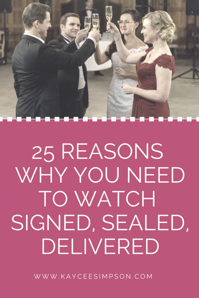 25 Reasons Why You Should Watch Signed, Sealed, Delivered